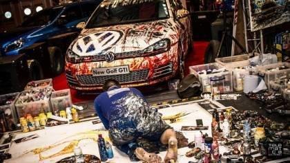 Pop Bang Colour at Autosport International