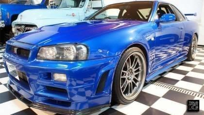 Paul Walkers Nissan Skyline GT-R for Sale