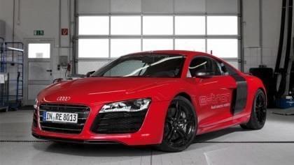 Iron Man's Audi R8 E