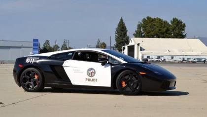 Lamborghini Aventador Cop Car