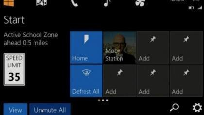 Microsoft Windows to your car dashboards