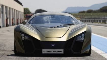 Russian Marussia B1 and B2 Supercars
