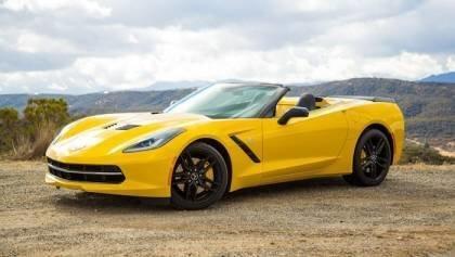 The 2015 Corvette Stingray aims to knock down