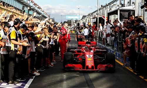 Winner Vettel