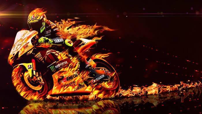 Motogp on Fire