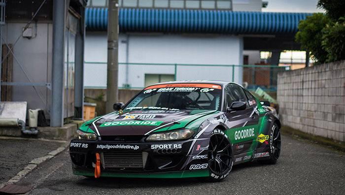 Team Nichiei's D1 Silvia S15