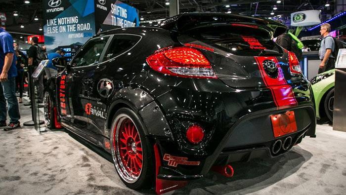 Hyundai Veloster at the Sema 2015