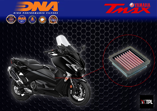 New DNA Yamaha TMAX 530 2017 Air Filter