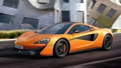 McLaren GT4 Racecar