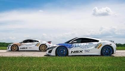 2017 Acura NSX Supercars
