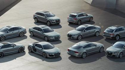 Audi plans production of 60 models