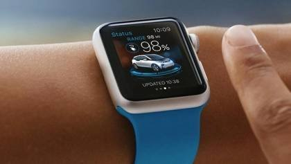 BMWs i Remote watch for the i3 and i8