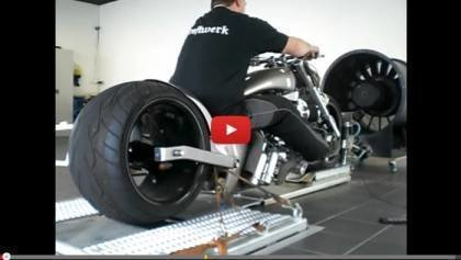 Bike With Worlds Biggest Tire