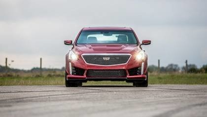 Hennessey Cadillac in Action