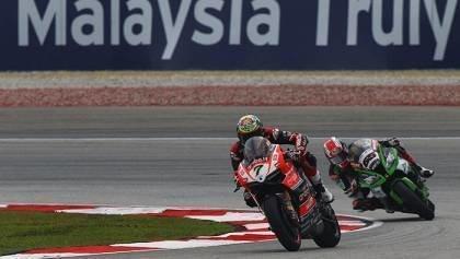 Two moto victory at Sepang