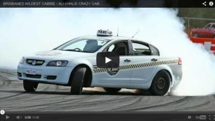 CRAZY CAB DRIVER DRIFTING