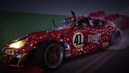 Christmas Ferrari-Powered Scion FR-S