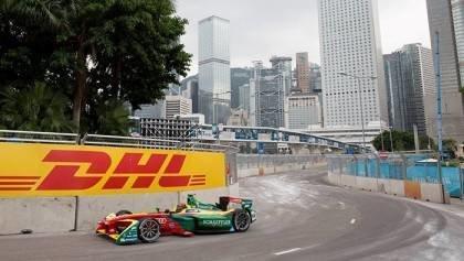 Formula E at Hong Kong