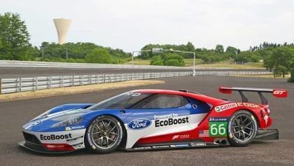 2015 Ford GT Testing