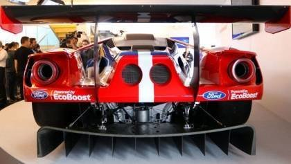 New Ford GT Testing at Sebring