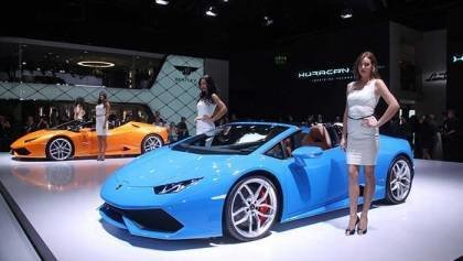 Girls of Frankfurt Motor Show