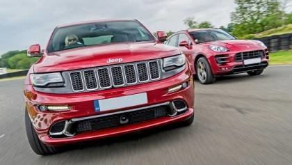 Grand Cherokee SRT vs Porsche Macan