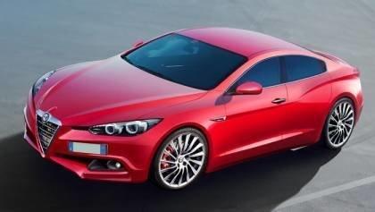 2015 Alfa Romeo Giulia Replace 159