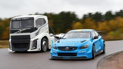 Iron Knight vs Volvo S60 Polestar