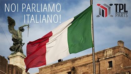 TPL-Parts in Italian! Noi parliamo Italiano!