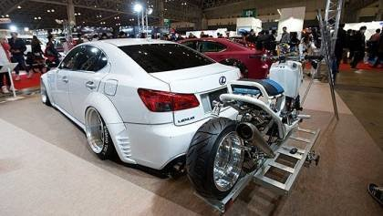 Only in Japan is the Tokyo Auto Salon