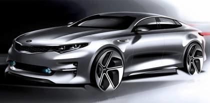 Impressive designs the next generation KIA Optima
