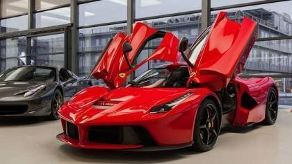 Two Ferrari Hit the track