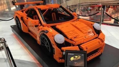 Porsche Lego Car in Sweden