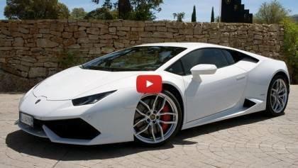 First Look 2015 Lamborghini Huracan