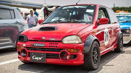 A Cool little Subaru Vivio RX-R