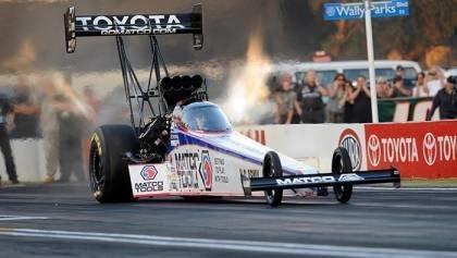 First time hearing top fuel NHRA