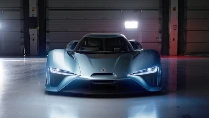 EP9 Electric Supercar with 1360bhp