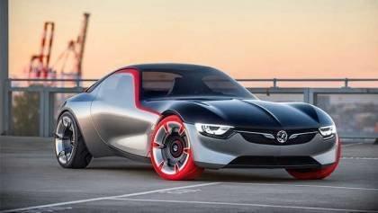 Opel GT Ultra Lightweight Car