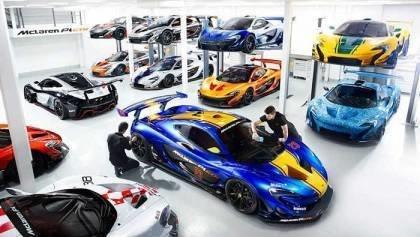 Mclaren P1 GTR Workshop