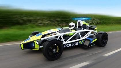 Police car will haunt the speeders