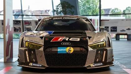 New Audi R8 LMS