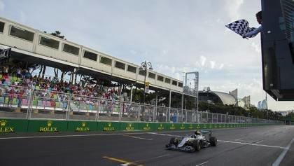 Rosberg Scores Fifth in Baku
