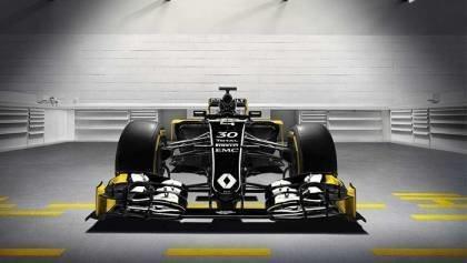 Renault RS16 F1 Car Reveal