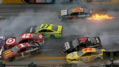How You Handle a Race Track Pile Up