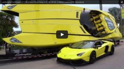 Lamborghini Speedboat