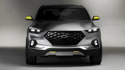 Hyundai Santa Cruz Crossover Truck