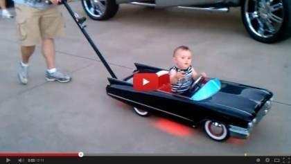 Custom Cadillac Baby Stroller