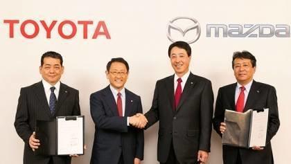 Long term cooperation TOYOTA-MAZDA