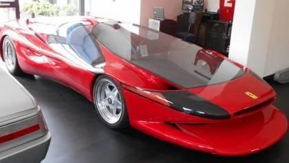 A strange Ferrari