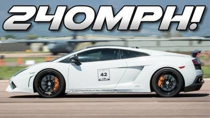 2300hp Lamborghini Shatters